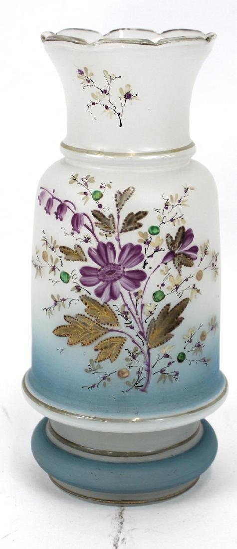 Bristol Vases. Hand Painted (2) - 3