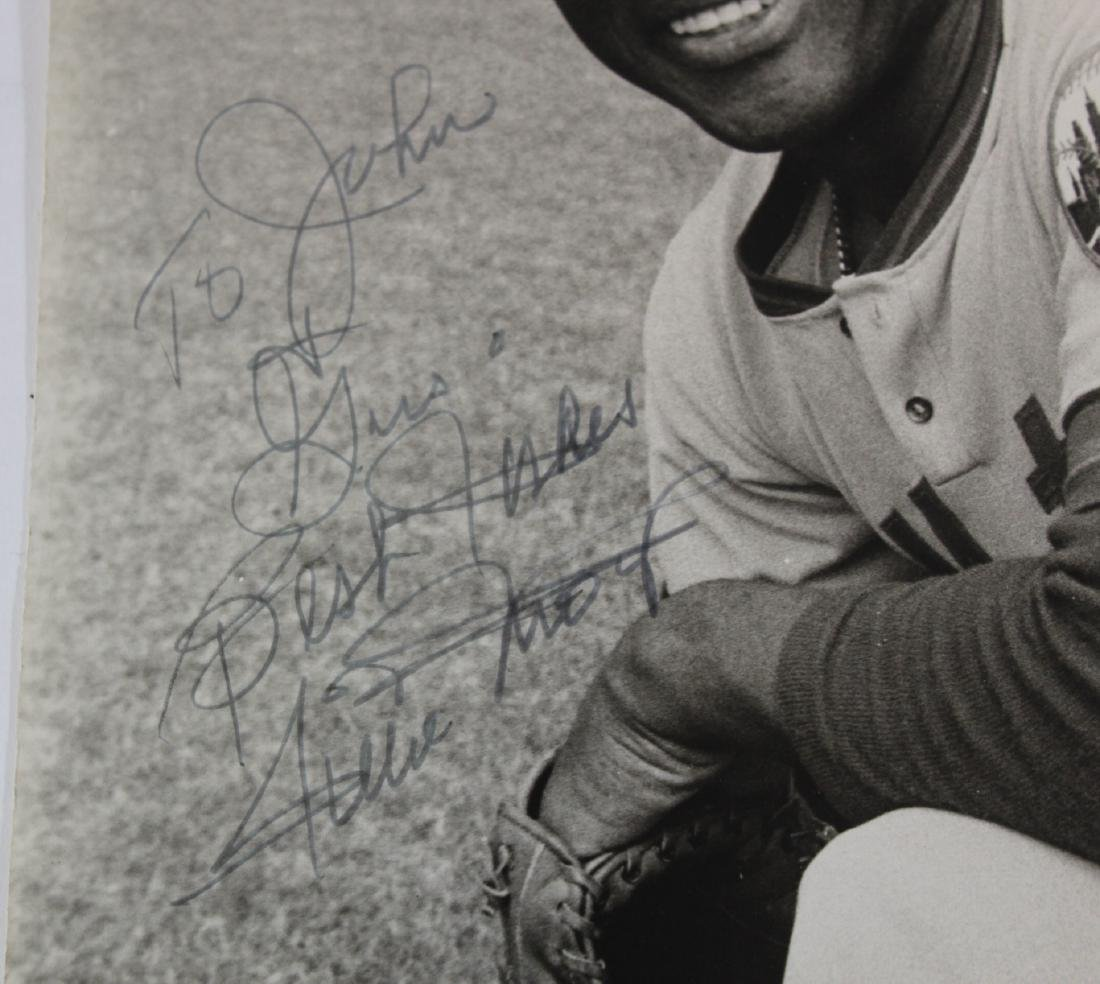 Willie Mays Autographed Photograph - 2