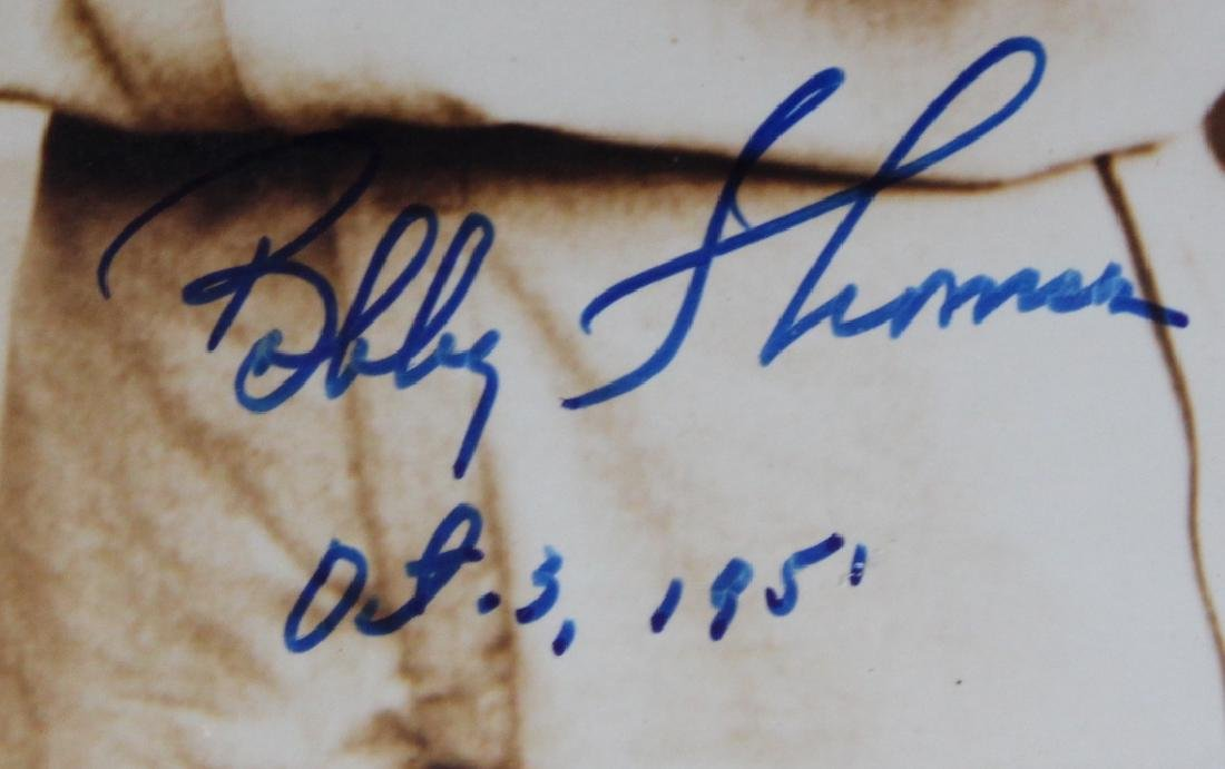 Bobby Thomson Signed Photograph - 4