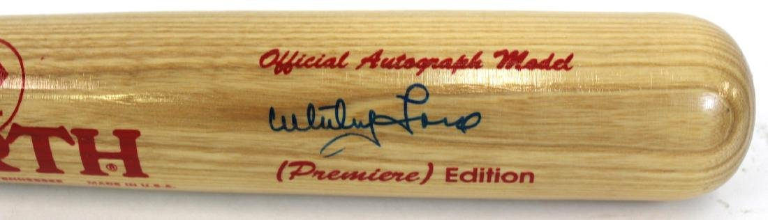Whitey Ford. Signed Bat.Worth - 3