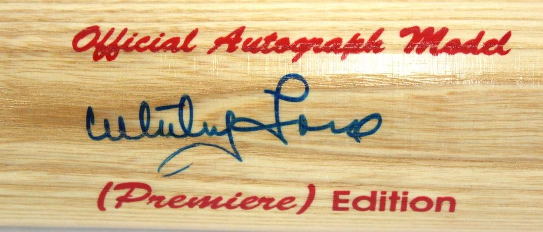 Whitey Ford. Signed Bat.Worth - 4