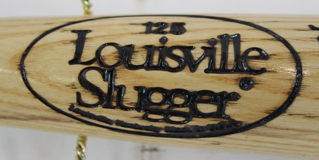 Enos Slaughter. Signed. Louisville Bat - 4