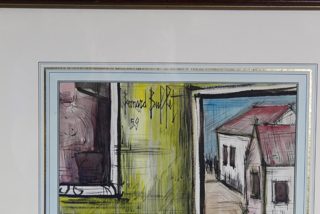 Bernard Buffet. Watercolor. Still Life. - 3