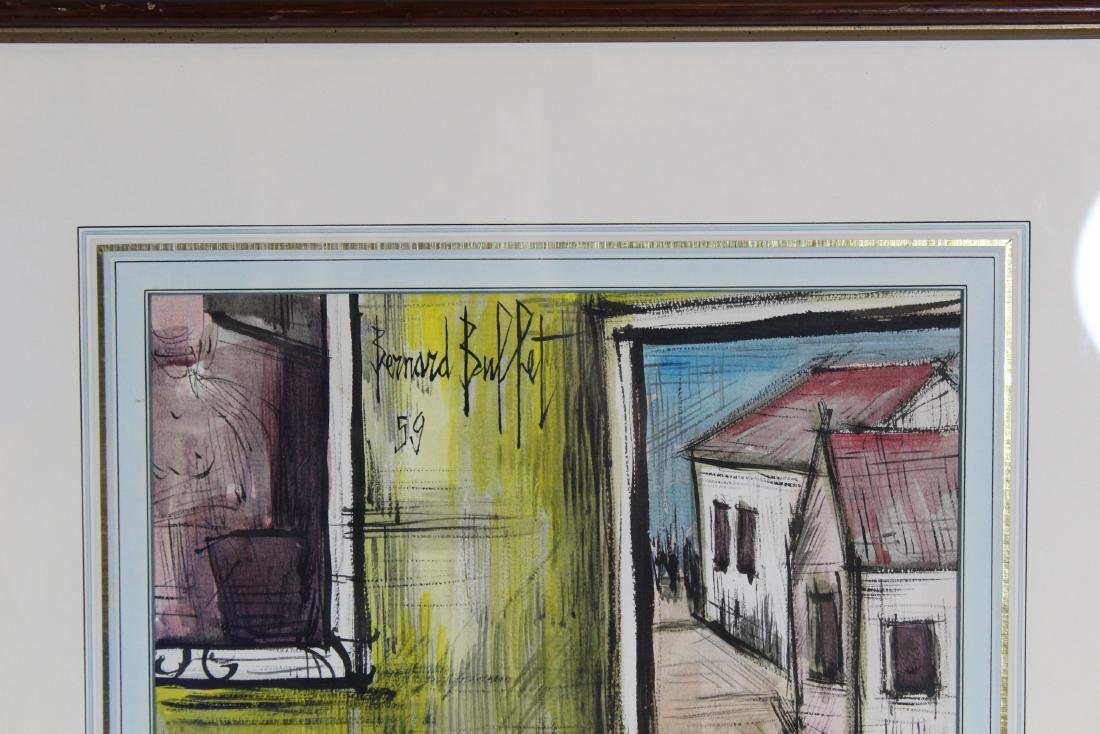 Bernard Buffet. Watercolor. Still Life. - 4