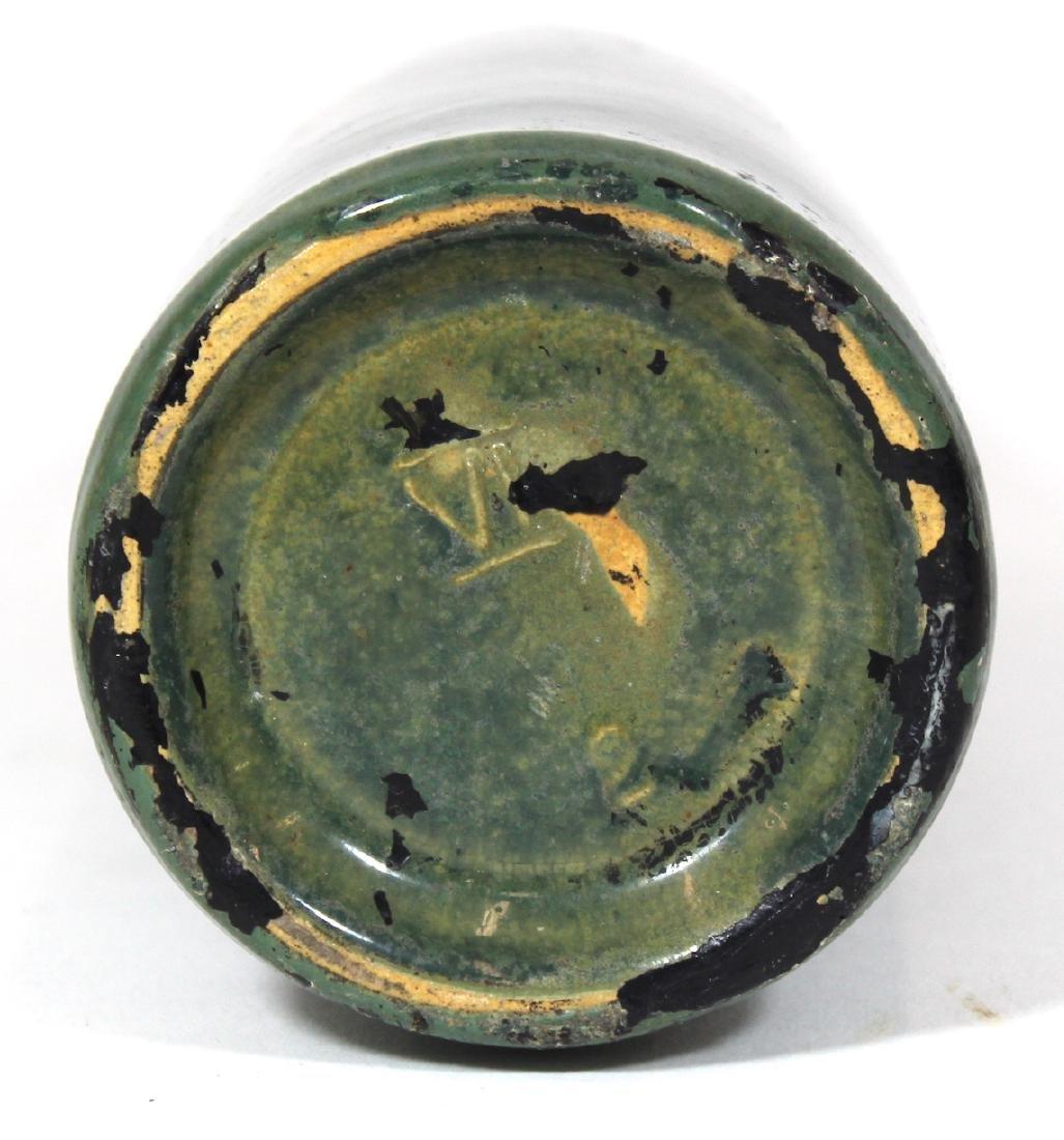 Art Pottery Vase. High Glaze to Matte Spatter - 2