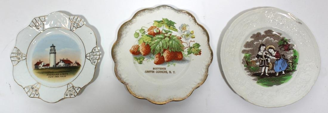 Collector's Lot of Staffordshire & Souvenir Plates