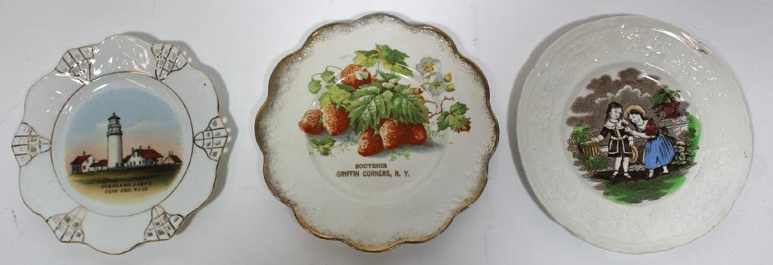 Collector's Lot of Staffordshire & Souvenir Plates - 2
