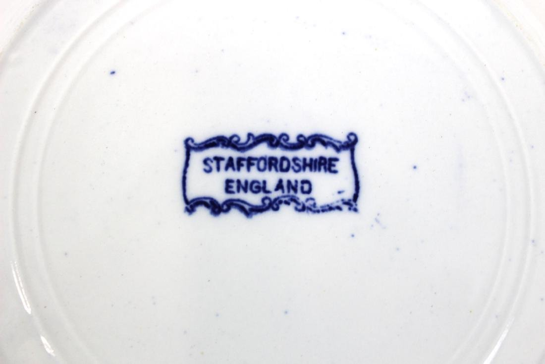 English Blue and White Albany , NY Plate - 2