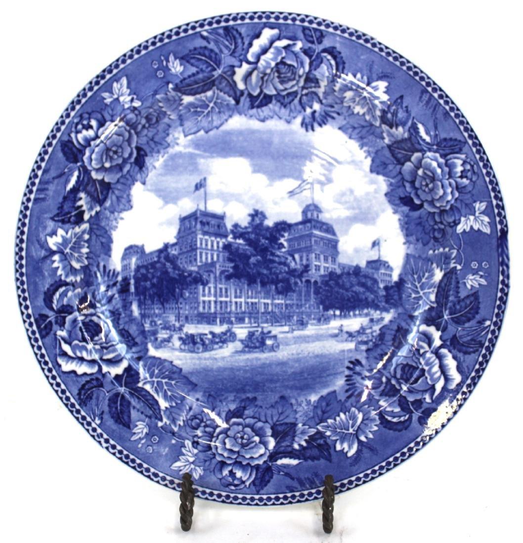 Wedgwood Saratoga Springs, NY Plate
