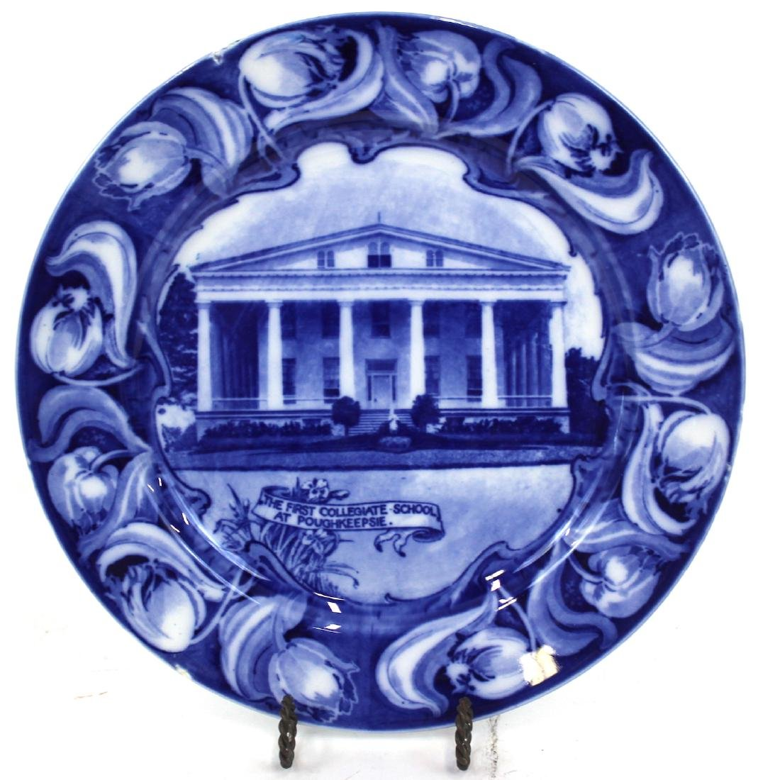 Royal DoultonFirst Collegiate School Plate