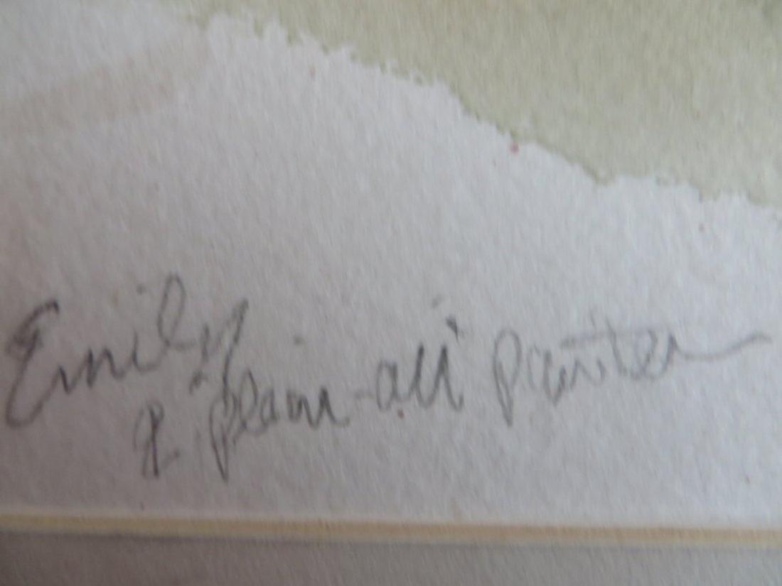 Albert Wasserman. Oil. WPA. Central Park. Sgd. - 3