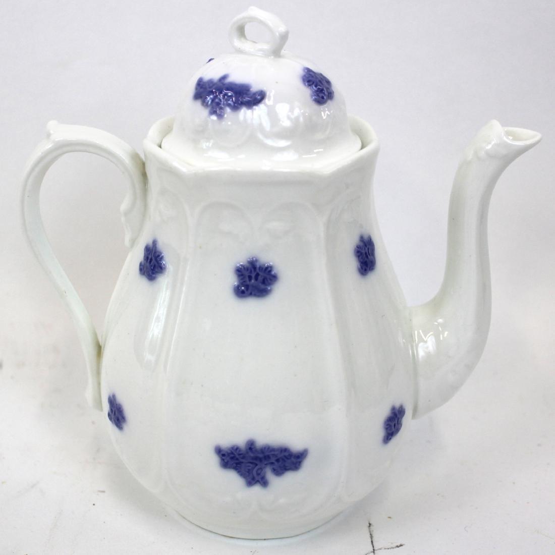 )Ironstone Tea Leaf Lustre Tea Set. (23) - 2