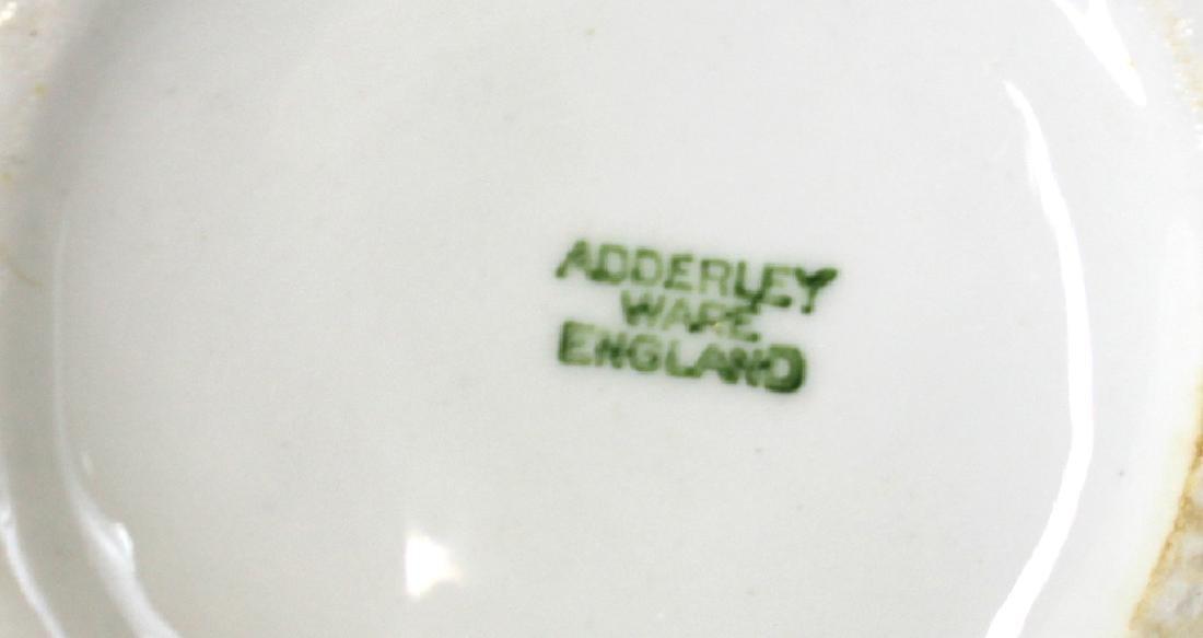 )Ironstone Tea Leaf Lustre Tea Set. (23) - 3