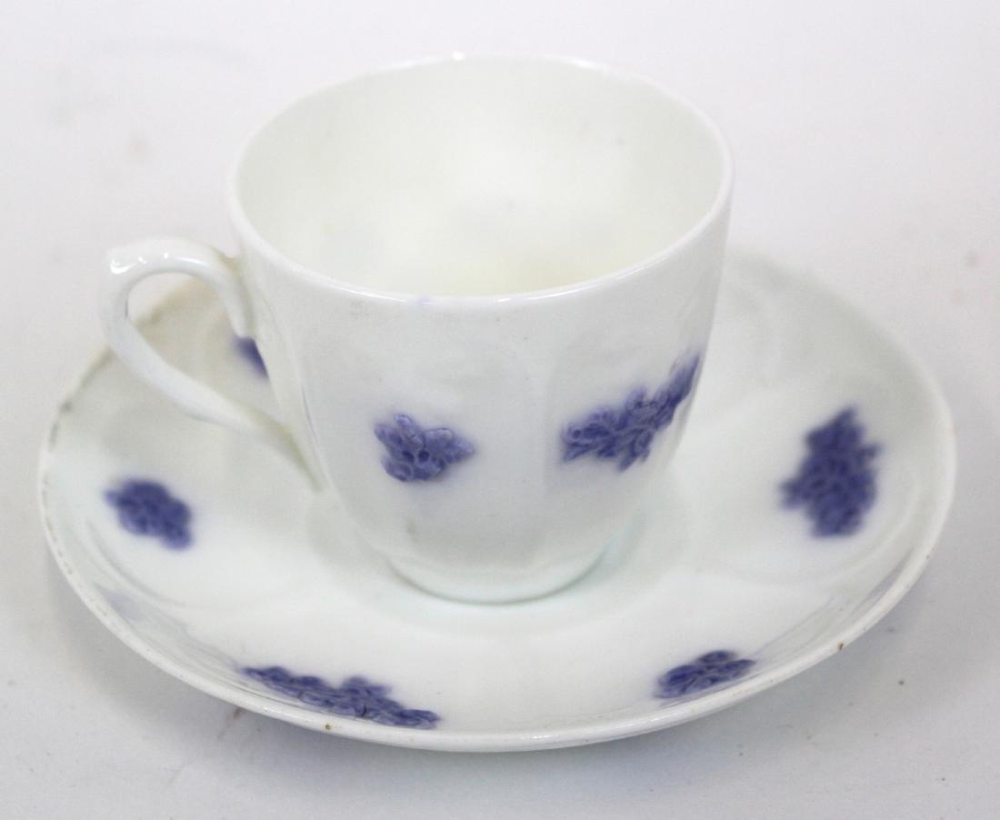 )Ironstone Tea Leaf Lustre Tea Set. (23) - 4