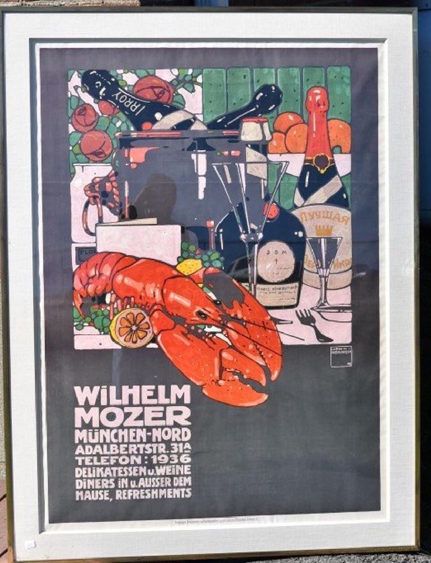 Ludwig Hohlwein.Wilhelm Mozer Poster