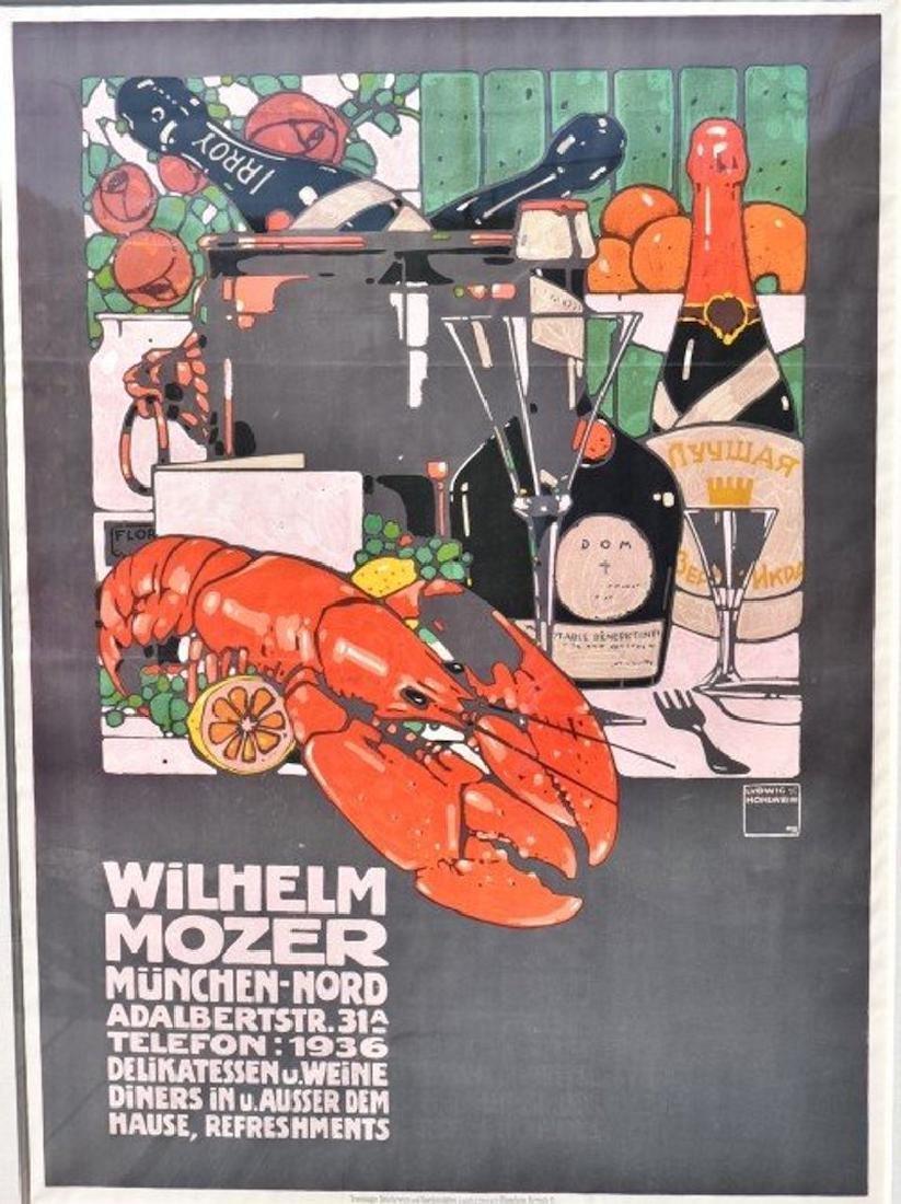 Ludwig Hohlwein.Wilhelm Mozer Poster - 2
