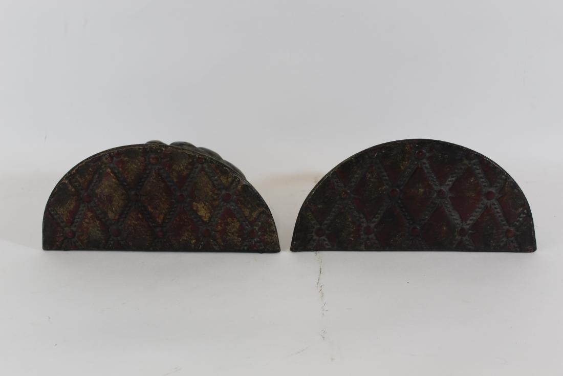 Pr. Antique Copper Wall Shelves - 2
