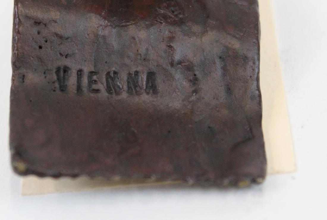 Vienna Bronze Figure.A Rug Merchant - 2
