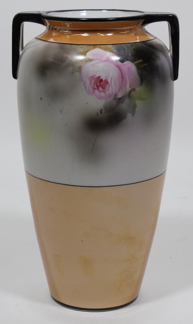 Noritake Hand Painted Vase. - 2