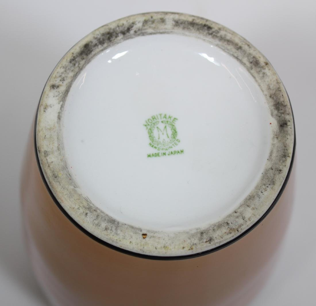 Noritake Hand Painted Vase. - 3