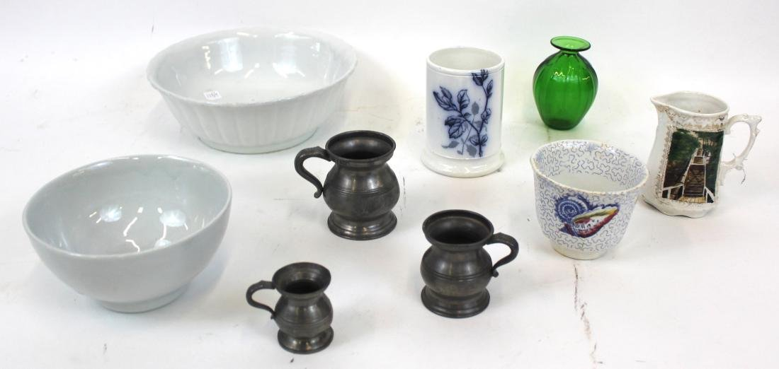Dealer's Lot of Ironstone and other (9)
