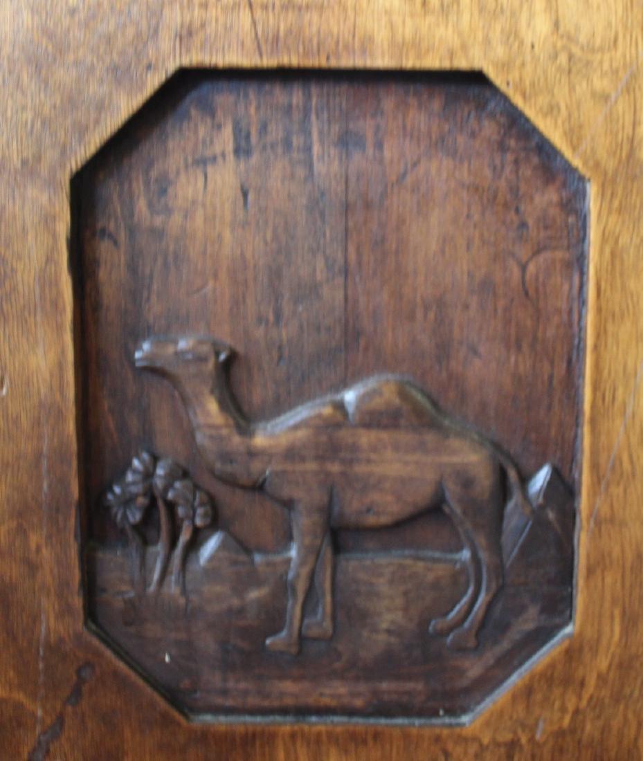 Unusual Camel Cigarettes Oak Service Bar - 3