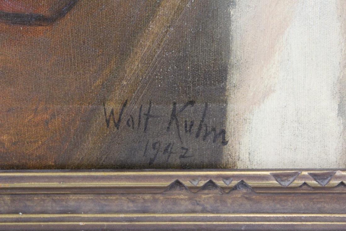 Walt Kuhn. Oil. Still Life With Apples. Sgd. - 2