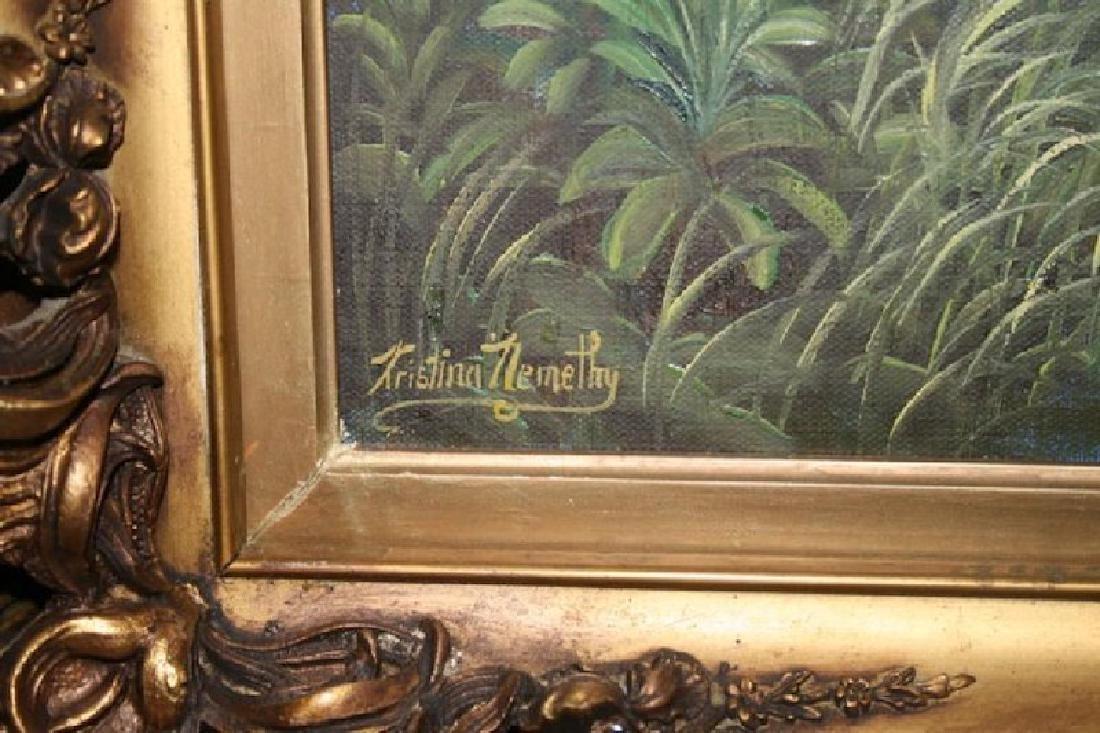 Kristina Nemethy Oil Still Life.Signed. - 2