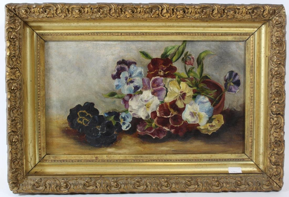 Oil on Canvas Still Life