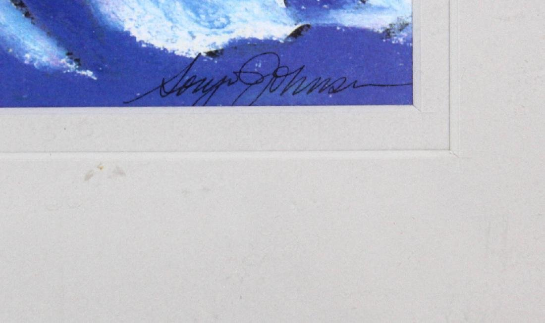 Limited Edition Lithograph. Sdg. Gary Johnson. - 3