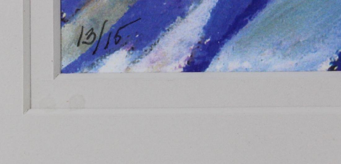 Limited Edition Lithograph. Sdg. Gary Johnson. - 4