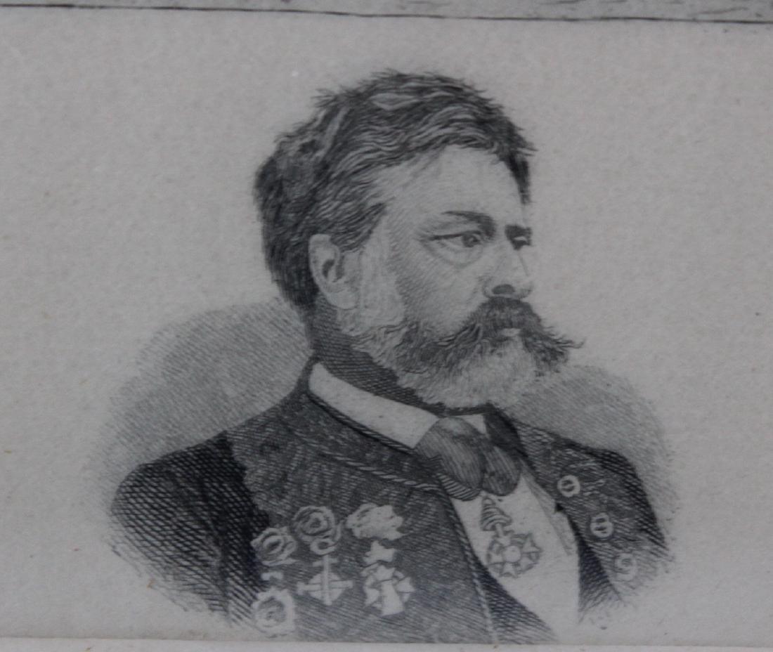 19th Century Engraving Sdg. Meissonier 1876. - 4