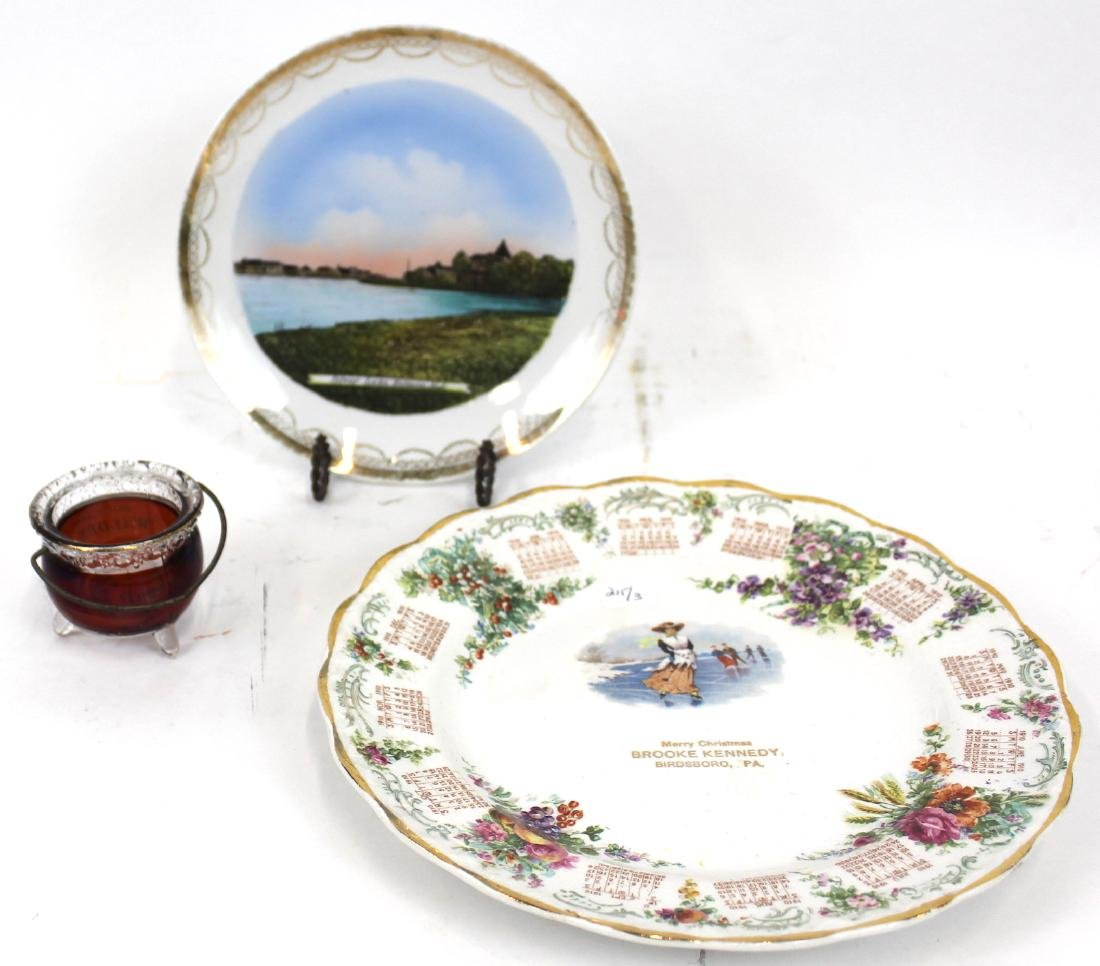 Collectible Souvenir Glass and China