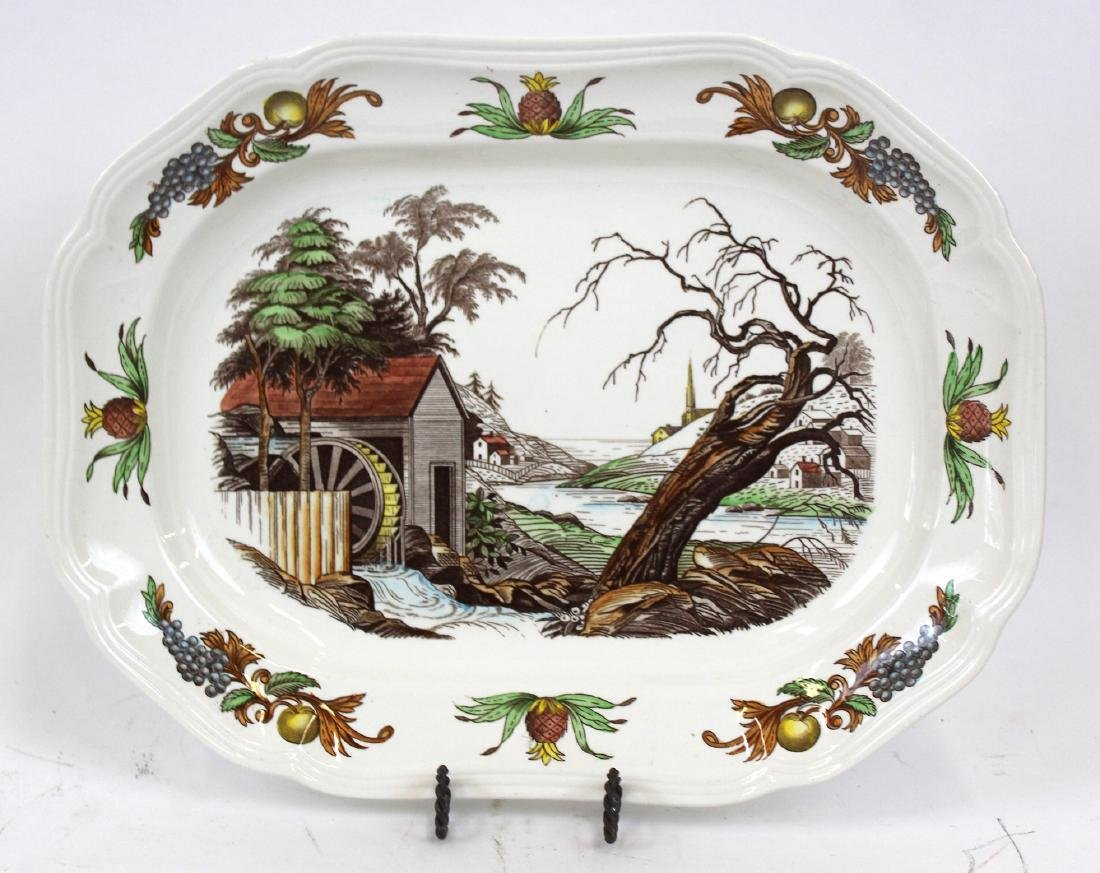 Copeland Spode Platter in the Fair Haven Pattern