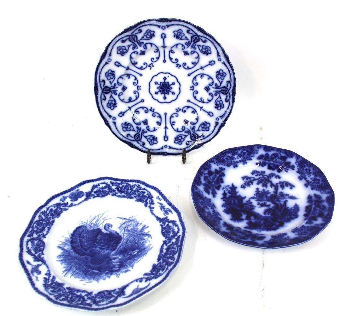 Collectors Lot of Flo-Blue(3)