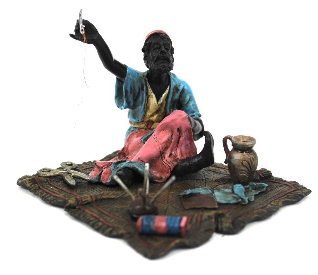 Vienna Bronze Tailor Figure