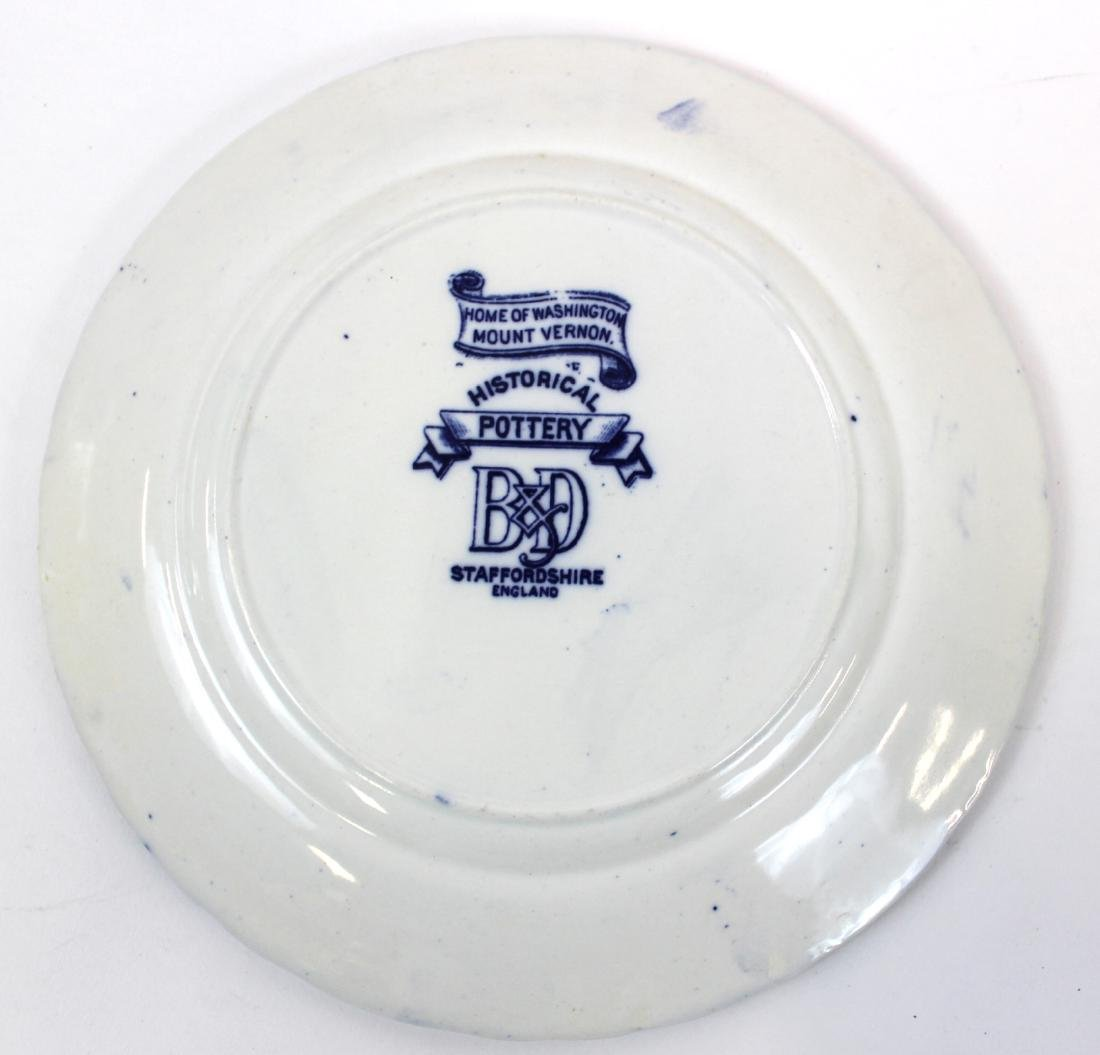 Collector's Lot of Flo-Blue & Staffordshire.(7) - 9