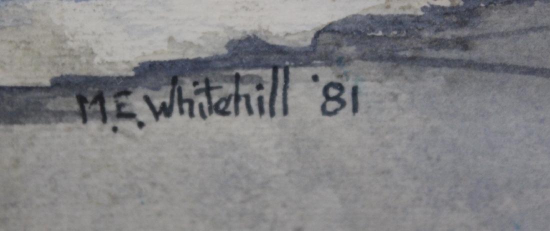 M. E. Whitehill. Gouache. Newburgh House. Sgd. - 2