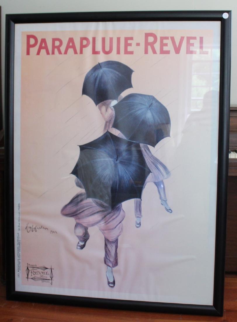 Parapluie Revel Poster. Cappiello.