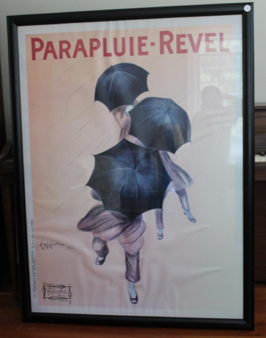 Parapluie Revel Poster. Cappiello. - 2