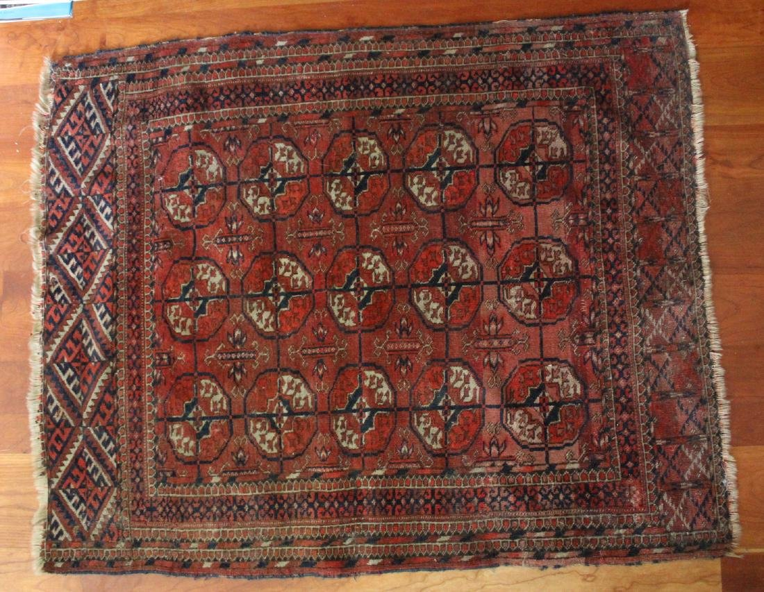 Antique Bokhara Oriental Rug