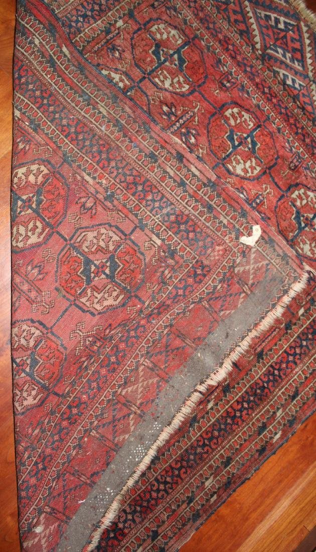Antique Bokhara Oriental Rug - 2