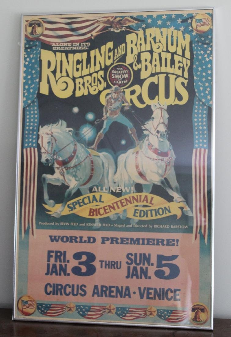 Ringling Bros. Barnum and Bailey Circus Poster