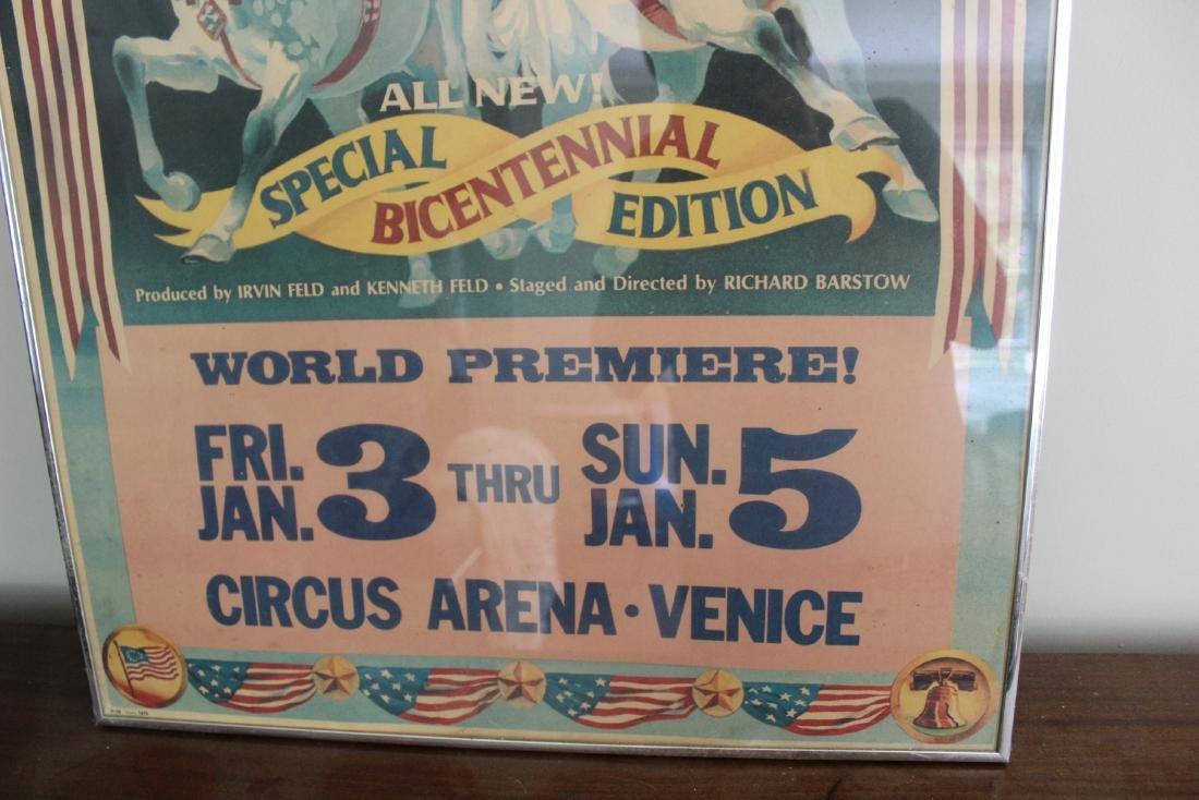 Ringling Bros. Barnum and Bailey Circus Poster - 2
