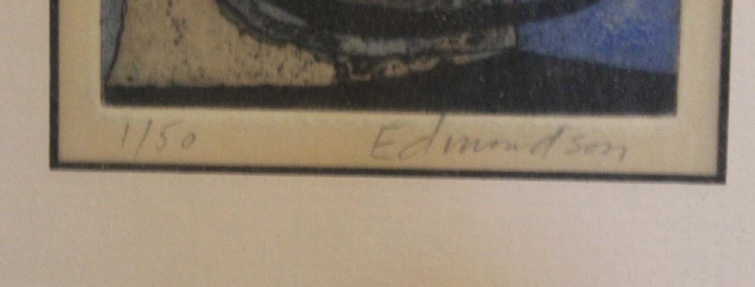 Edmondson, Leonard. Etching & Aquatint 1/50 Sgd. - 3