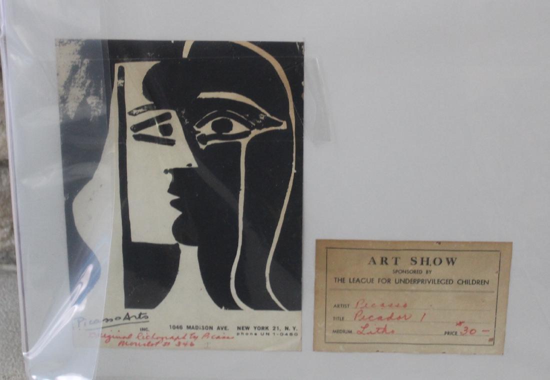 Picasso Lithograph.La Pique Los Toros 1961Signed - 3