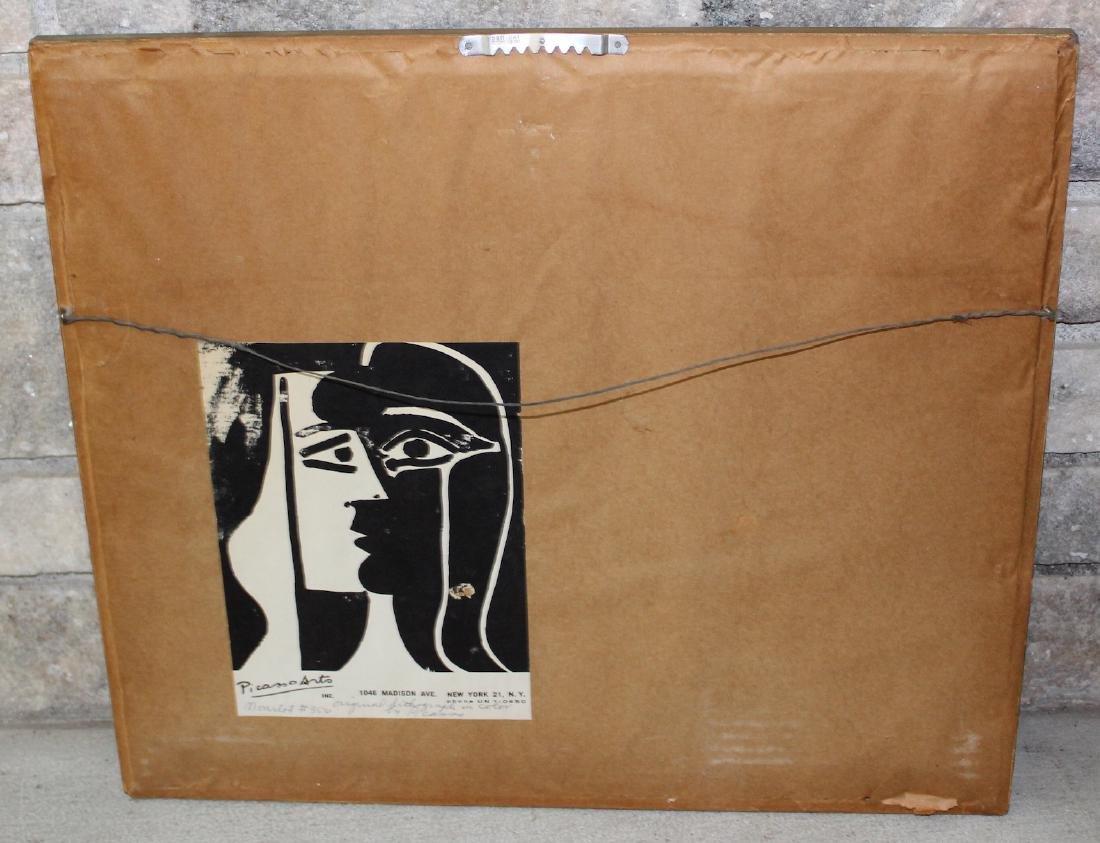 Pablo Picasso Lithograph. La Pique Los Toros 1961 - 3