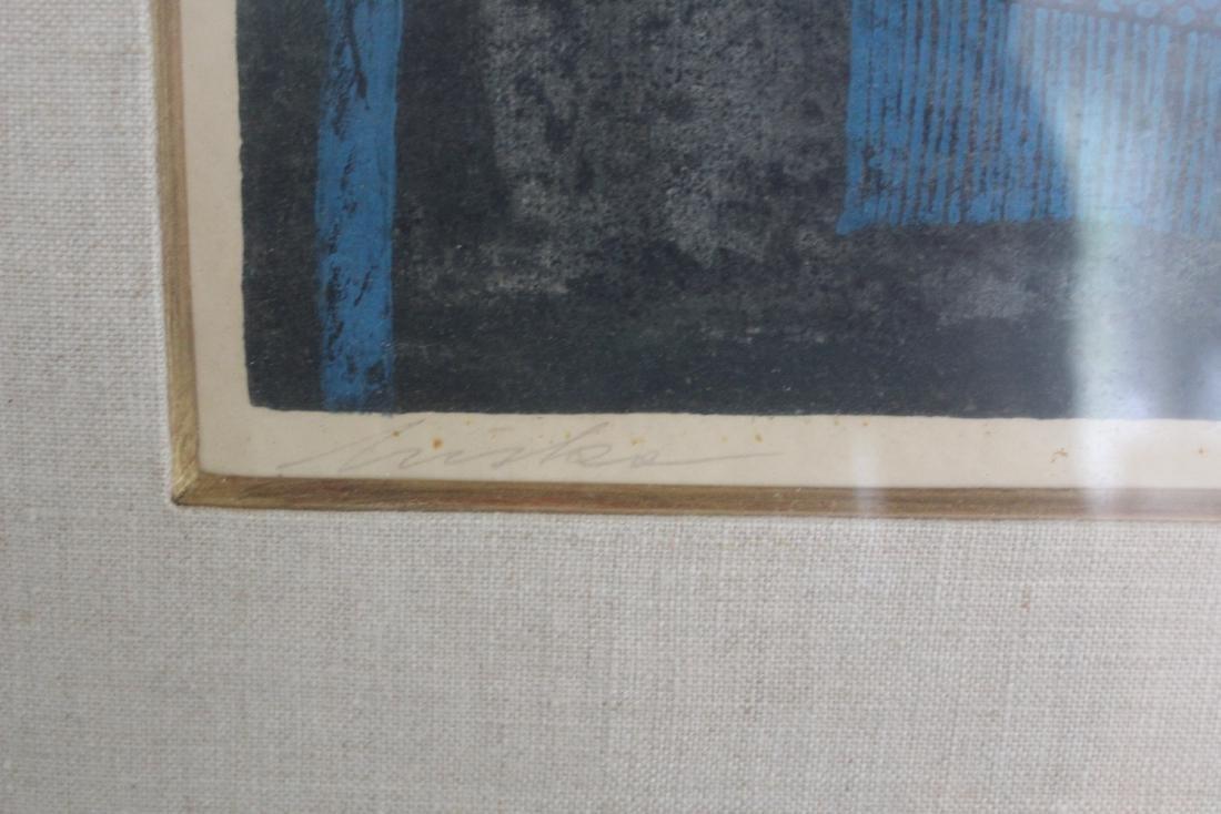 Mid-Century Modern Ltd. Ed. Lithograph. Sgd. - 2