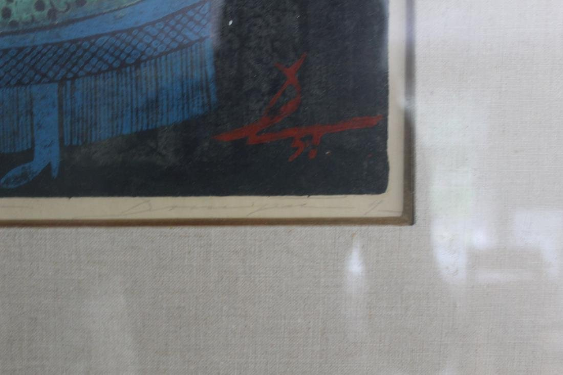 Mid-Century Modern Ltd. Ed. Lithograph. Sgd. - 3
