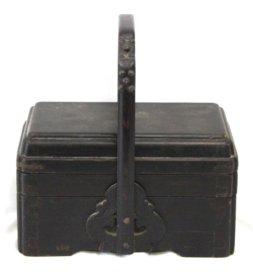 18th C. Chinese Lacquered Lunch Box